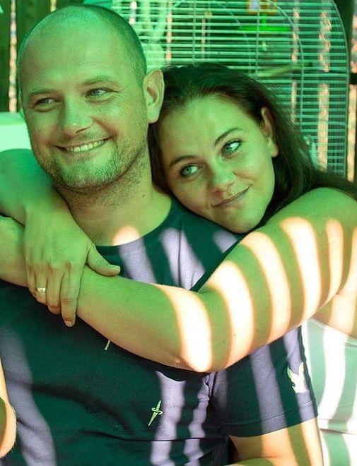 Justyna z bratem, którego nie widziała przez 28 lat