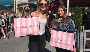 Otwarcie pierwszego polskiego sklepu Victoria's Secret przyciągnęło tłumy