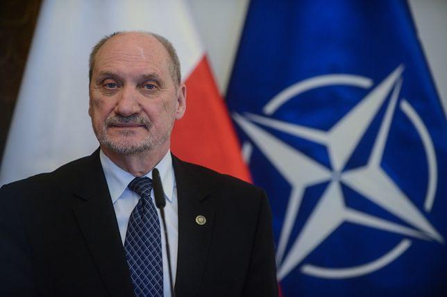 Antoni Macierewicz, były szef MON.