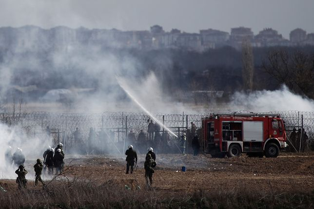 Starcia i strzały na granicy turecko-greckiej