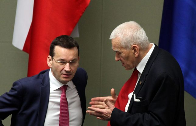 Kornel Morawiecki, ojciec przyszłego premiera: będziemy z synem w różnych partiach