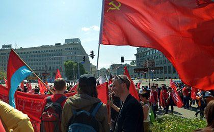 """1 majowy marsz pod hasłem: """"Pracy, Mieszkań, Godnej Płacy!"""""""
