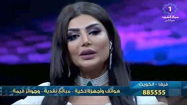 Amal Al-Awadhi naraziła się wdziom