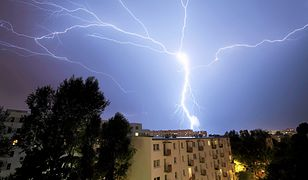 Pogoda. Niedzielne burze nie oszczędzą także Warszawy
