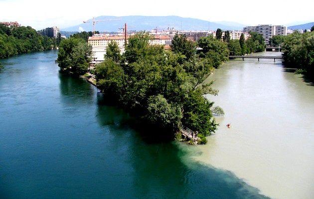 Rodan i Arve, Szwajcaria