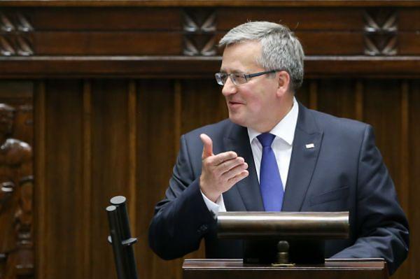 Prezydent przed Zgromadzeniem Narodowym: wybory z '89 r. decydujące o sukcesie polskiej drogi