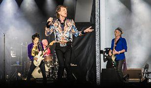 Sir Mick Jagger, Keith Richards, Charlie Watts i Ronnie Wood, czyli The Rolling Stones podczas koncertu na PGE Narodowym w Warszawie.