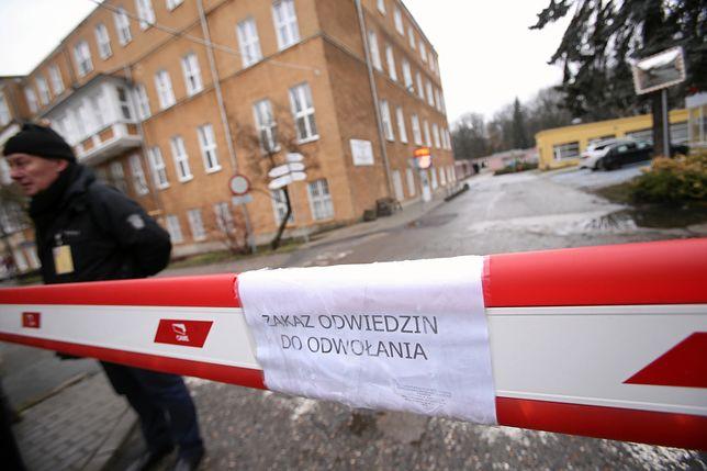 Odra w szpitalu w Szczecinie. Zachorowali pracownicy