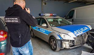Po tym jak auto mężczyzny zderzyło się z policją, 32-letni recydywista zaczął uciekać pieszo