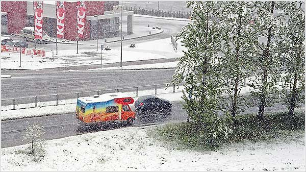 Zima w maju - zobacz zdjęcia
