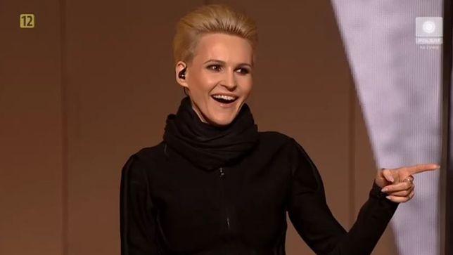 Agnieszka Chylińska zaniemówiła na festiwalu w Sopocie 2019