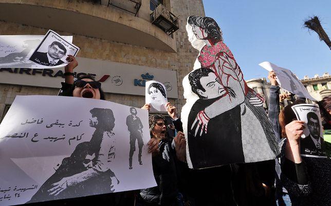 Protest w Kairze po śmierci Szaimy al-Sabbagh