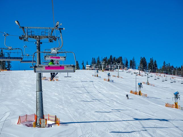 Wyciąg narciarski w Białce Tatrzańskiej