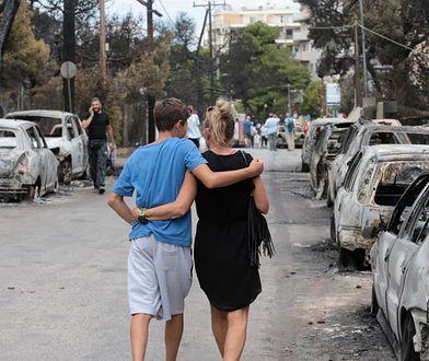 Pożary w Grecji: pomimo tragedii turyści nie rezygnują z wakacji