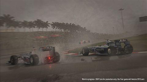 F1 2010 w ruchu