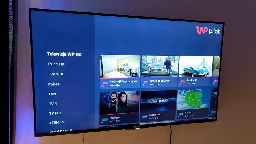 WP Pilot dostał nowy interfejs na Android TV. Jest świetny (fot. Jan Domański, dobreprogramy)