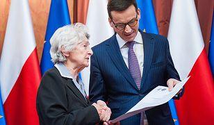 Premier Mateusz Morawiecki otrzymał list przedstawicieli Polskiego Towarzystwa Sprawiedliwych Wśród Narodów Świata.