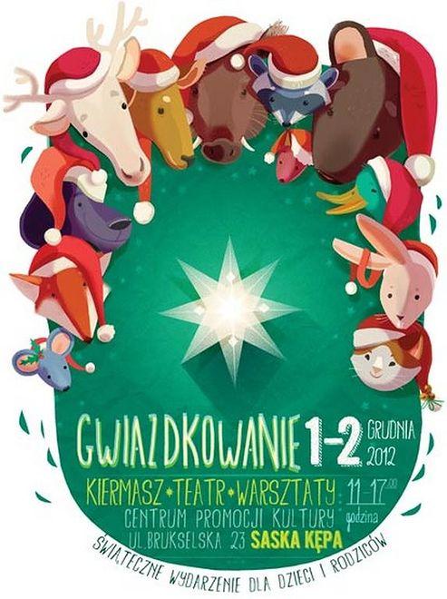 Gwiazdkowanie 1-2 grudnia na Saskiej Kępie