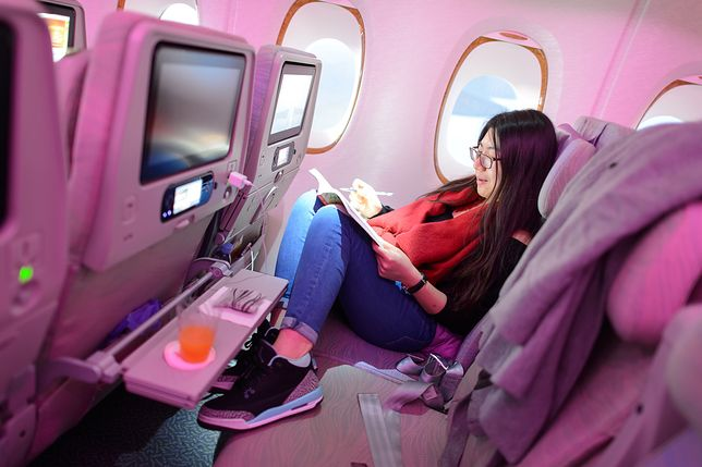 Najbrudniejsze miejsca w samolocie