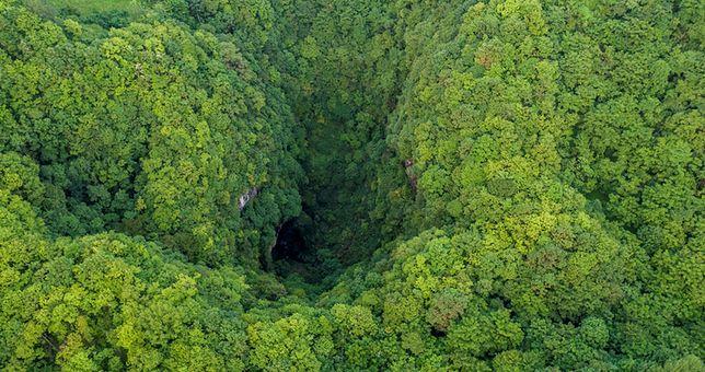 W Chinach odkryto tajemnicze kratery