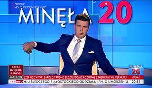 Michał Rachoń. Minęła 20