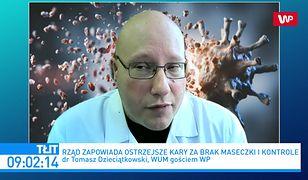 Koronawirus w Polsce. Nowe ograniczenia jesienią? Tomasz Dzieciątkowski komentuje