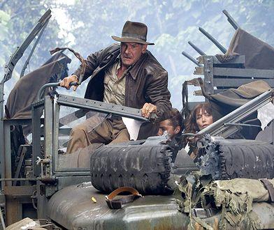 """Harrison Ford w """"Indiana Jones i królestwo kryształowej czaszki"""" (2008)"""