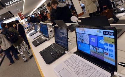 Sprzedaż komputerów mocno spadła
