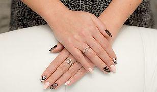 Piękne paznokcie w karnawale