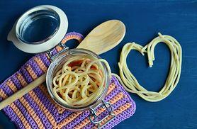 Ugotowany makaron wegański (wzbogacony)