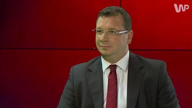 Michał Wójcik u Jacka Gądka: PiS ma dziś prawie 40 proc. poparcia w sondażach. Podchodzimy do tego z pokorą