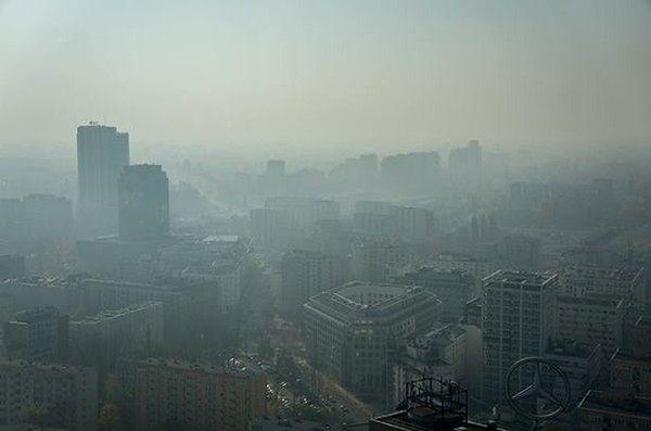 Błędne dane na temat czystości powietrza w Warszawie?