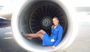 Swoimi spostrzeżeniami na temat pracy stewardesy Dorota dzieli się na Facebooku