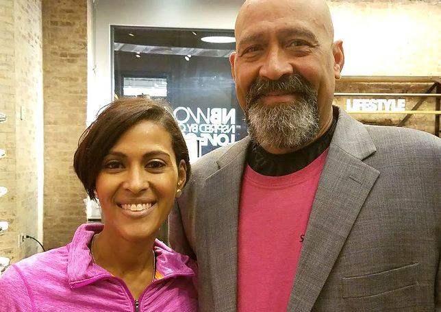 Vanessa Silva i jej tata Arnado
