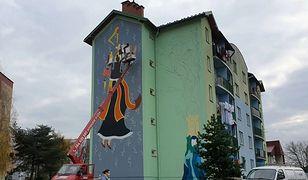 """Nowy Sącz. Sześć murali powstało w ramach Ulicznego Pleneru Artystycznego """"Siew"""""""