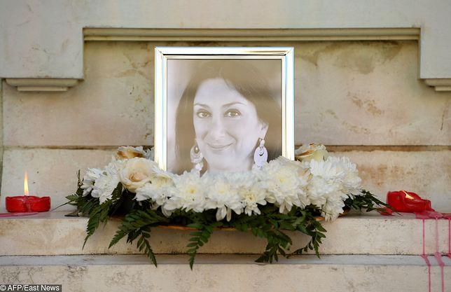 Hołd złożony zmarłej dziennikarce Daphne Caruana Galizia