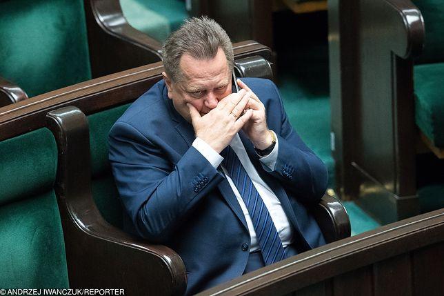 Wiceminister Jarosław Zieliński nie chce ujawniać kulisów przyznania mu ochrony