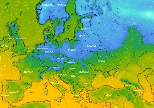 Pogoda. Idzie ochłodzenie i niż Jarosław. Możliwe przymrozki i śnieg