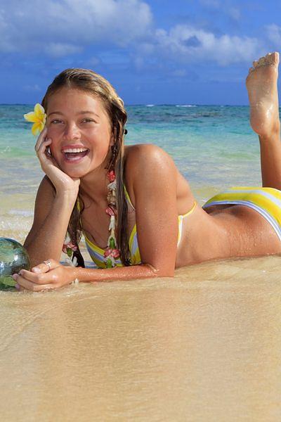 Bądź plażową królową piękności
