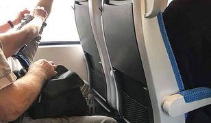 Zdejmowanie butów w pociągu to oznaka złych manier. A może także profanacja pendolino?