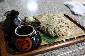 Surowy makaron japoński Soba