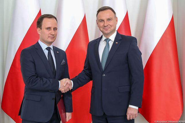 Mariusz Rusiecki jest doradcą prezydenta Andrzeja Dudy do spraw społecznych