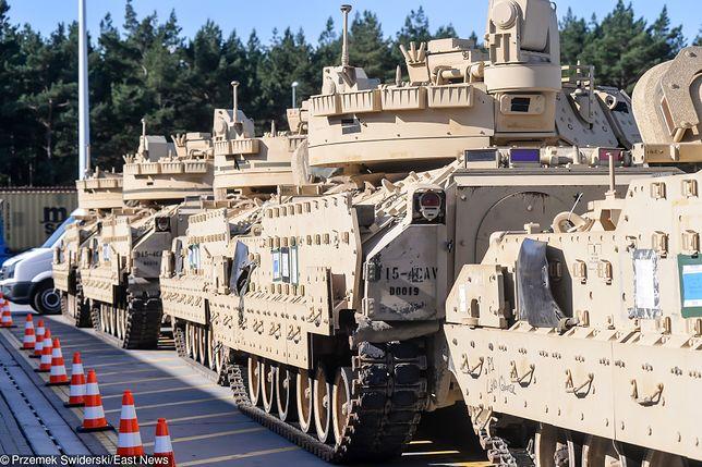 USA: Amerykanie przerzucają wojsko na teren Polski. Ma to służyć wzmocnieniu wschodniej flanki NATO