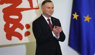 Wybory prezydenckie 2020. Konwencja PiS w Warszawie. Andrzej Duda zaczyna kampanię