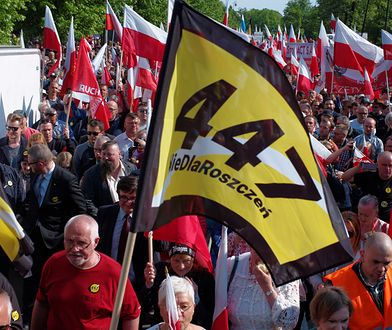 Marsz przeciwko ustawie 447 w Warszawie