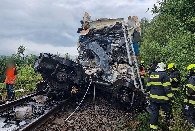 Czechy. Katastrofa kolejowa. Dwie osoby nie żyją