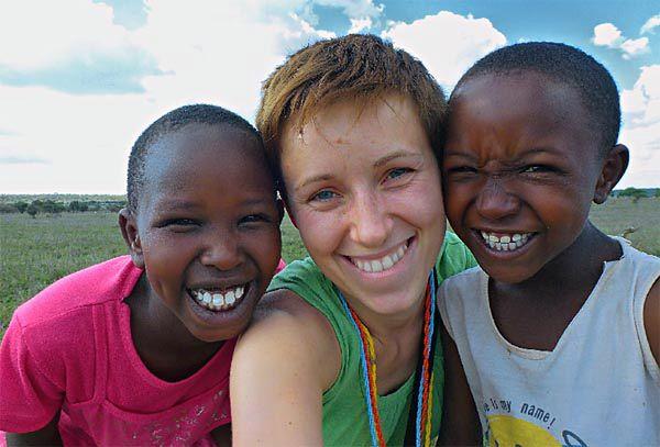 Polka pomaga dzieciom z masajskiej szkoły