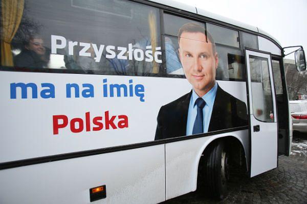 Dudabus rusza w trasę po Polsce