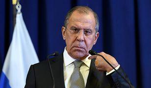 Siergiej Ławrow odcina się od oskarżeń Amerykanów odnośnie fałszowania wyborów