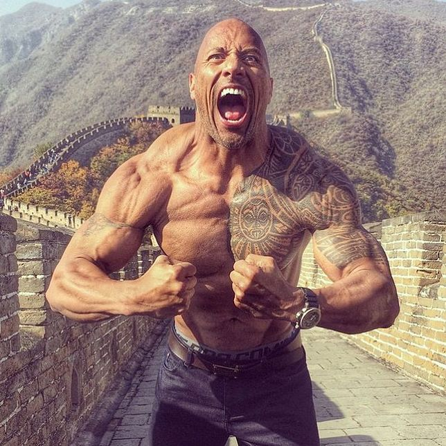 "Dwayne ""The Rock"" Johnson zapewnił sukces filmowi"